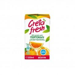 Χυμός Πορτοκάλι Κρήτης Φυσικός 100% 250ml