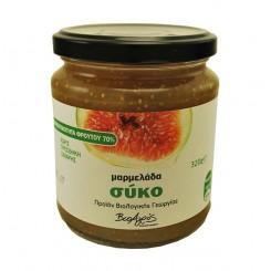 Βιολογική Μαρμελάδα σύκο χωρίς ζάχαρη (320γρ)