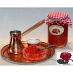 Παραδοσιακό  γλυκό του κουταλιού Φλώρινας τριαντάφυλλο 400γρ