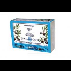 Σαπούνι με Αγγούρι της θάλασσας & ελαιόλαδο 100γρ, kollectiva.