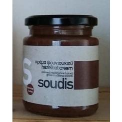 Πραλίνα φουντουκιού ελληνική χωρίς ζάχαρη 320γρ