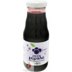 Βιολογικός χυμός μύρτιλο 200ml