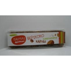 Παστελι φρούτων, βερίκοκο-καρύδι 100γρ