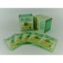 Πράσινο Τσάι με τζίντζερκαι  λεμονι 10 φακελάκια