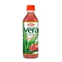 Χυμός με  Aloe Vera και ρόδι χωρίς ζάχαρη 500ml
