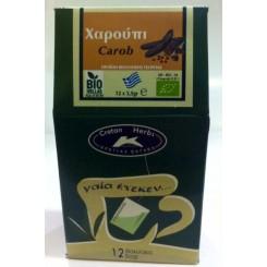 Τσάι Χαρουπιού ΒΙΟ (12 φακελάκια)